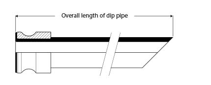Detachable Dip Pipe