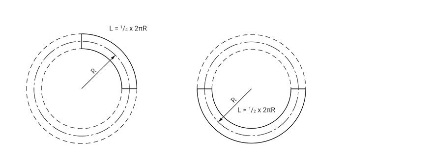 Aflex Hose - Length Calculation