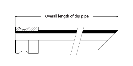 Detachable Dip Pipe